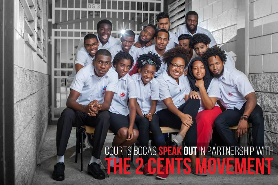 The Courts Bocas Speak Out tour poets