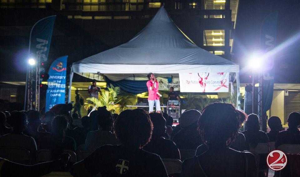 On stage at U.WE Speak